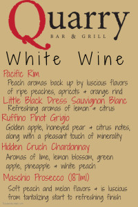 New White Wine